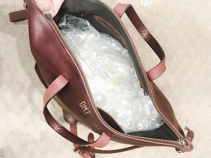 organize handbags