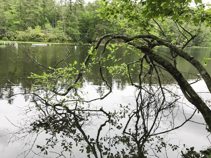 Highlands North Carolina Cliffside Lake