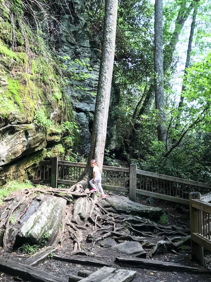 Highlands North Carolina Dry Falls