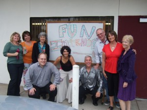 fun intended an improv comedy group directed by Jacquie Lowell