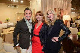 Dann Foley with Jane Seymour and Donna Moss