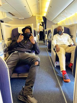 Stonebwoy to join Shatta Wale and Sarkodie in US as he jet off to Las Vegas for a board meeting