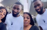 Chelsea's Antonio Rudiger hang out with Nana Aba Anamaoh at coded location in Ghana [Video]