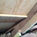 Holzfaser-Dämmplatten im Dachknick
