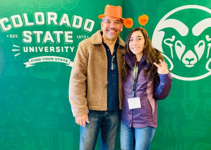 College trip to Colorado State 16