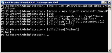Fun with BCS, External Lists, and PowerShell! | Running With