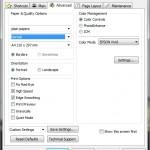 Printer Preferences - Advanced