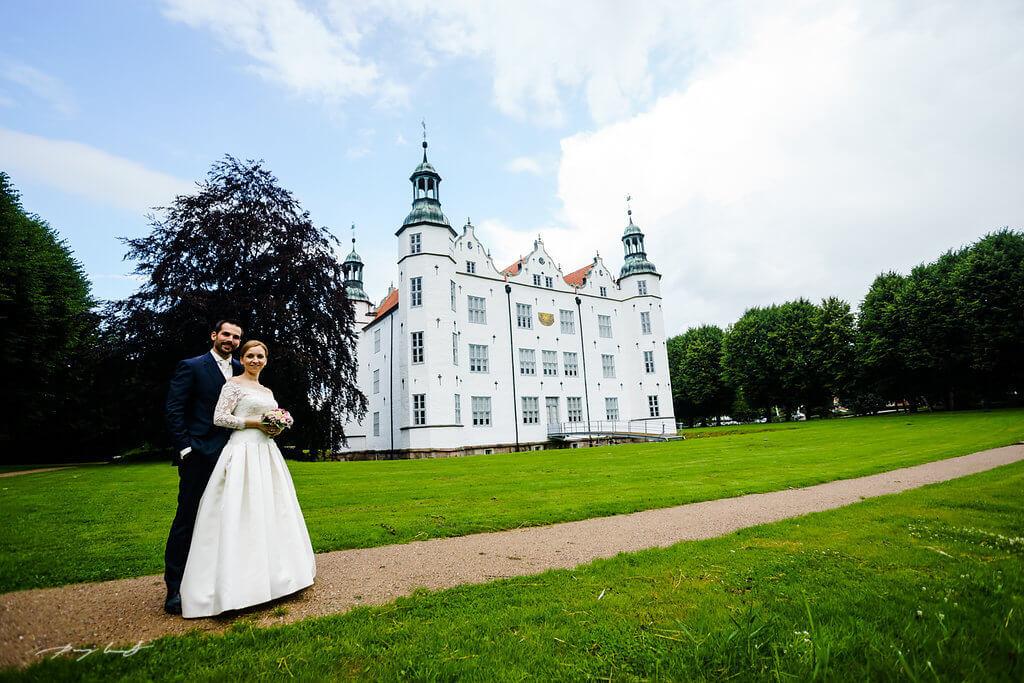 Hochzeit Schloss Ahrensburg Hochzeitsfotograf Hamburg Luneburg