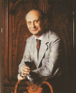 Leonardo Frescobaldi of Marchesi de' Frescobaldi oversees a vast wine empire, including the prime Chianti Rufina property, Castello di Nipozzano.