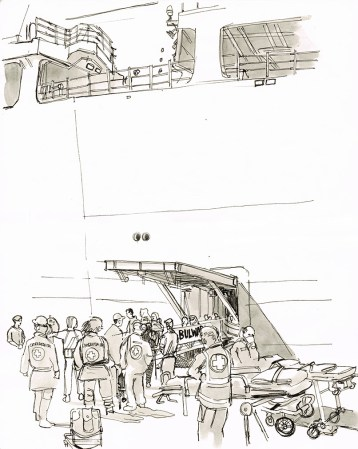 Disembark-Italy