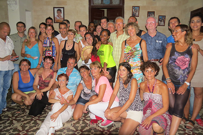 voyageurs à Cuba