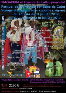 Caribe juil-2019 double départ