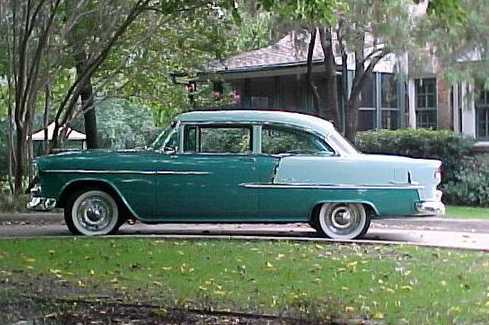 Dan s Classic Auto Parts   Cars   Tech Info 1955 Sedan  Passenger Car Hardtop  1955 Chevrolet Hardtop