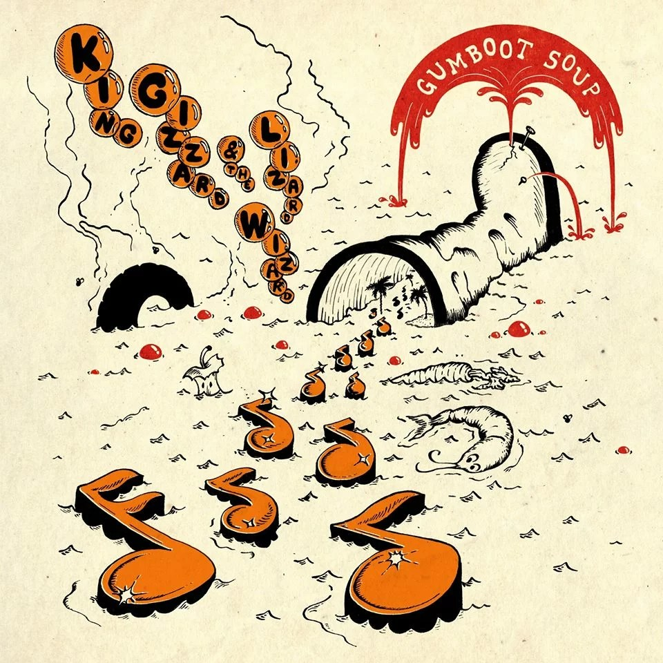 "King Gizzard and the Lizard Wizard – Gumboot Soup (★★★★): ""These boots are made for dancing."""