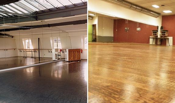 louer un studio de danse