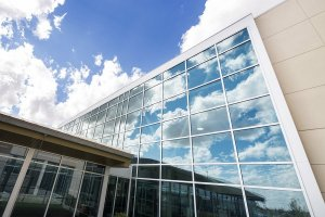 Dan's Glass - Modern Hospital Building With Glass Windows