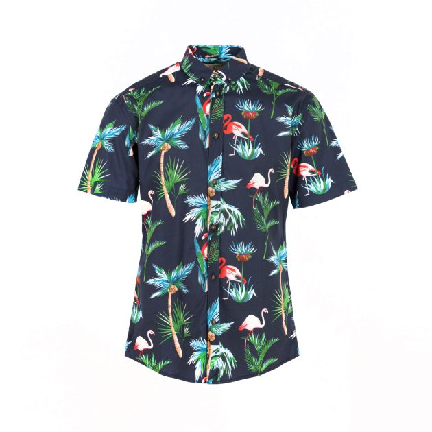Karl Shirt Short - Navy
