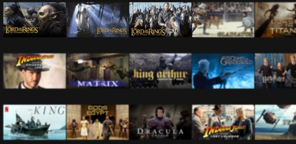 The Lord of the RIngs på Netflix
