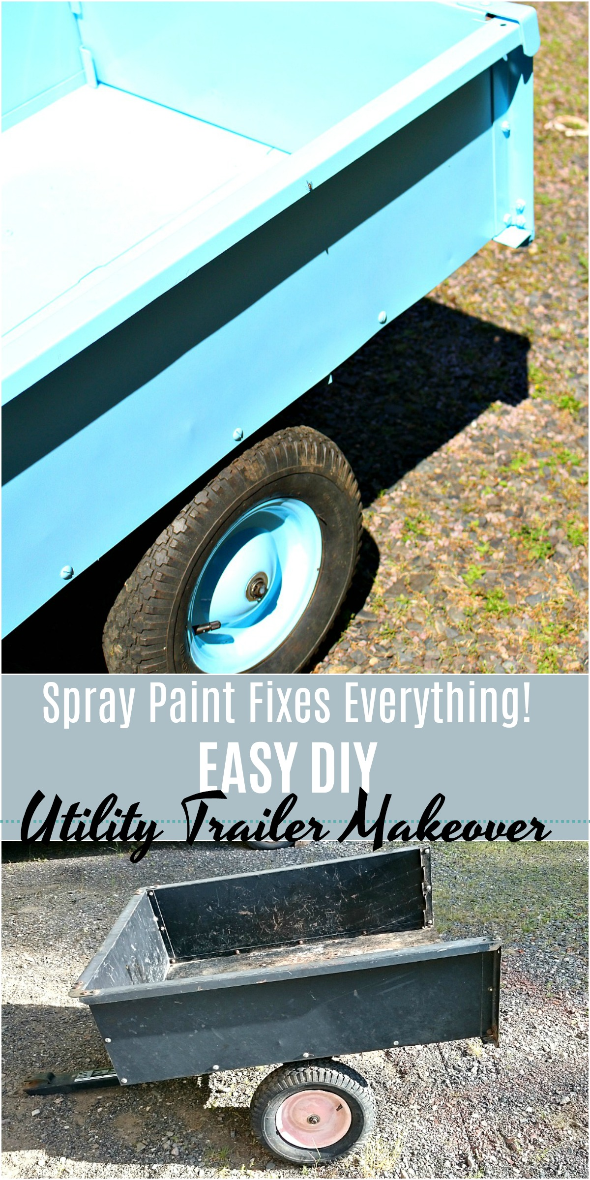 How to paint utility trailer