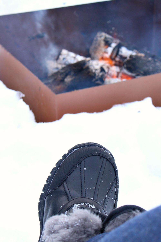 Winter Lake Life