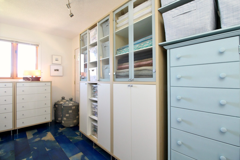 Blue Decor Inspiration - Craft Room Makeover