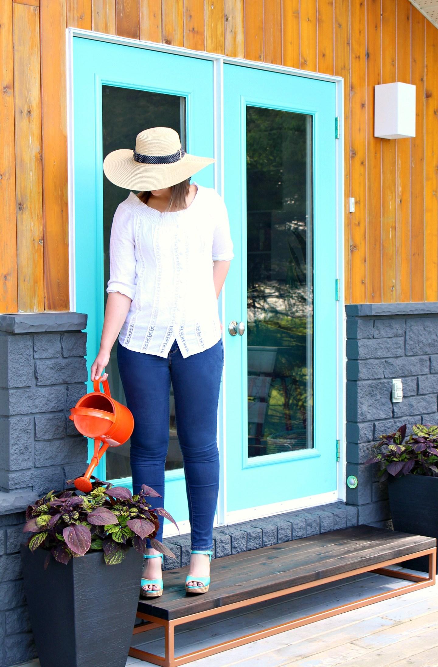 Turquoise Exterior Door Inspiration