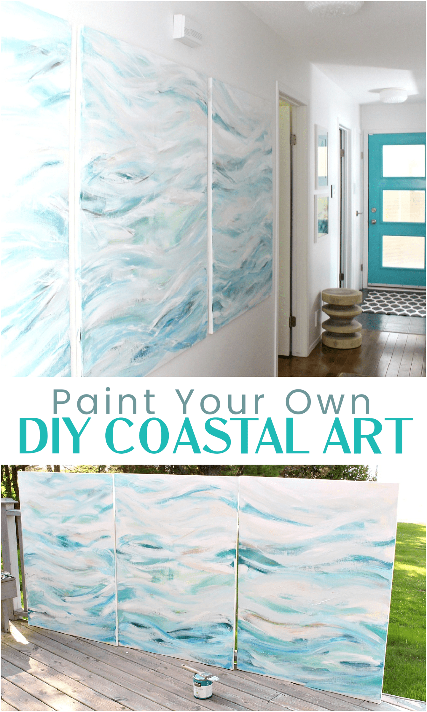 Learn How to Paint Your Own Coastal Art