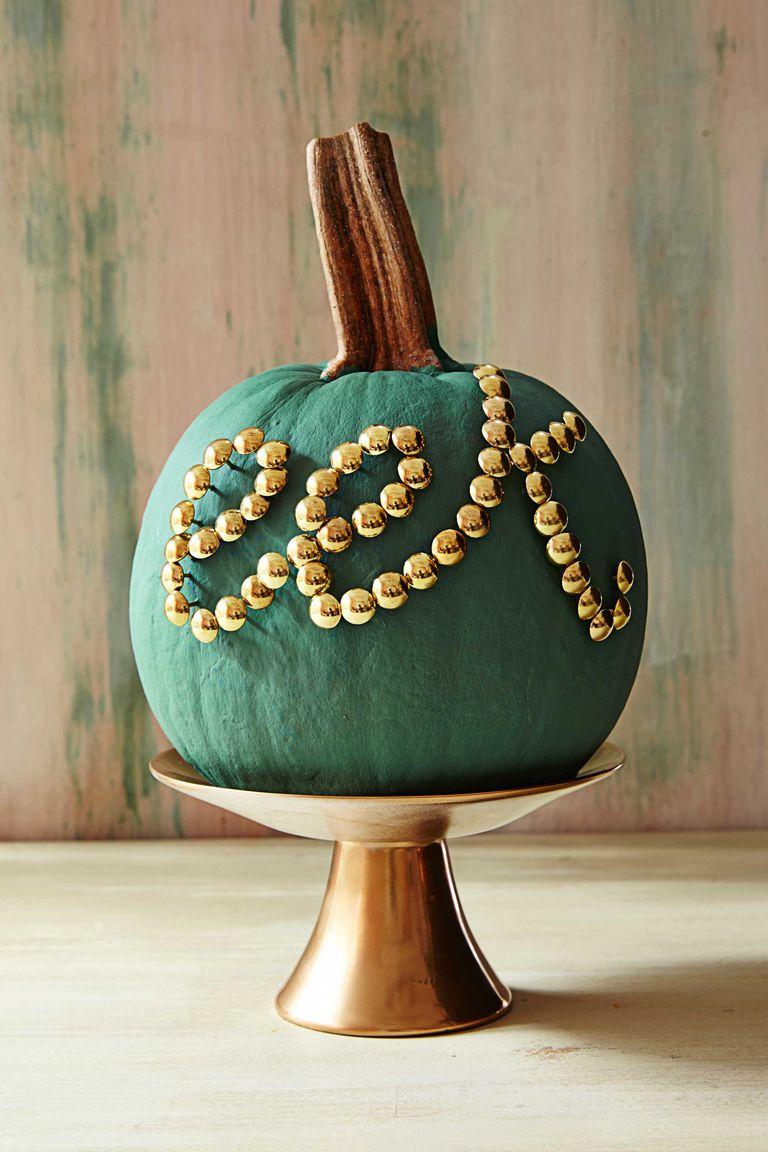 thumb tack pumpkins