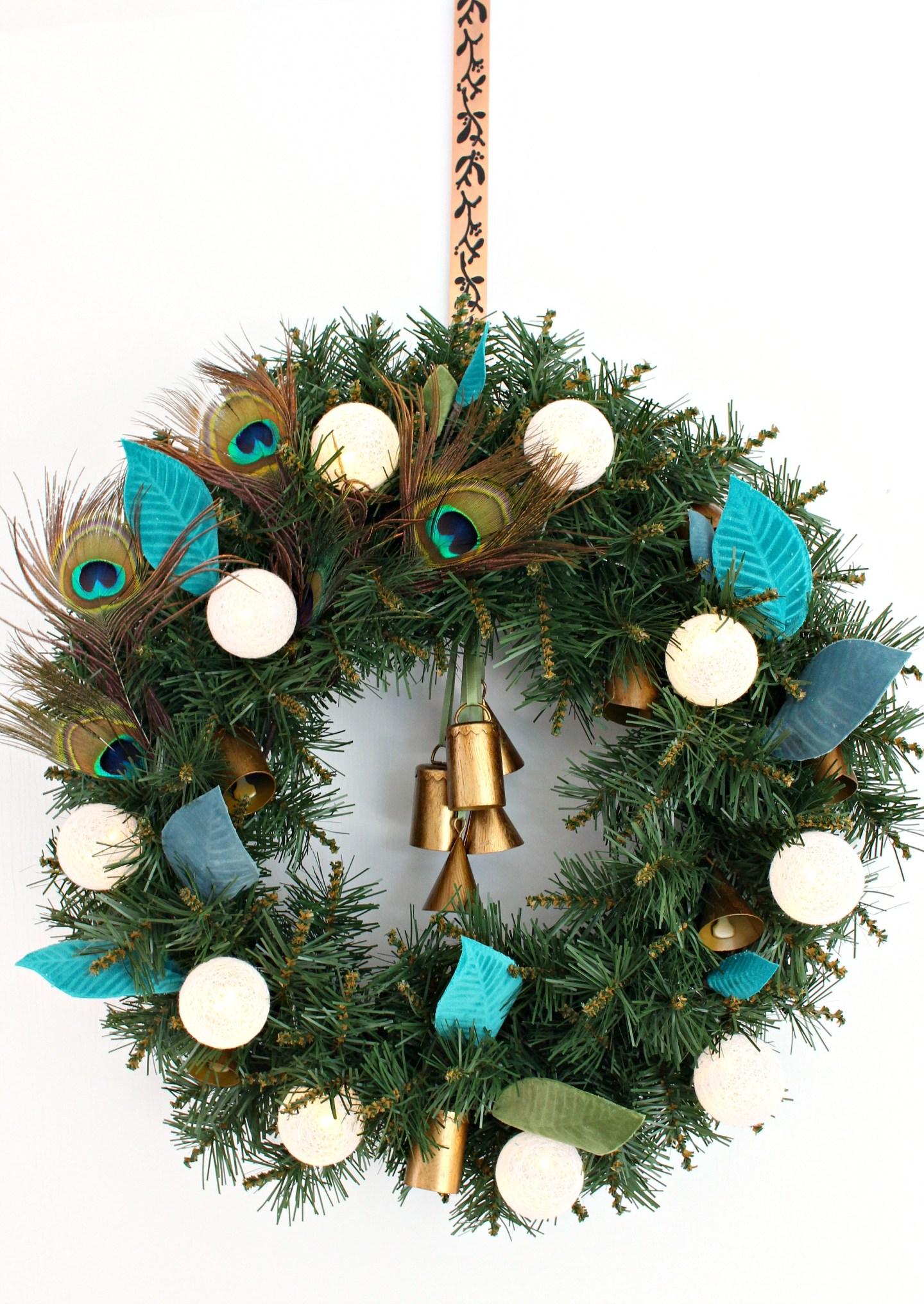 DIY Boho Wreath Tutorial