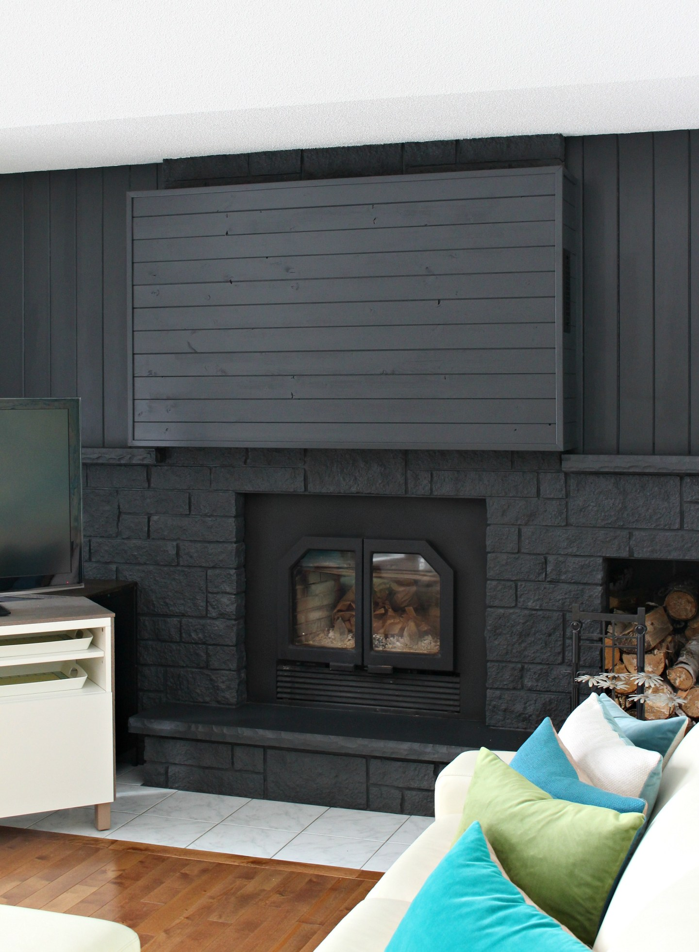 Can't Hang TV on Fireplace Solution