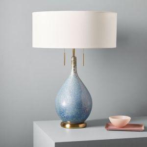 BLUE DROPLET LAMP