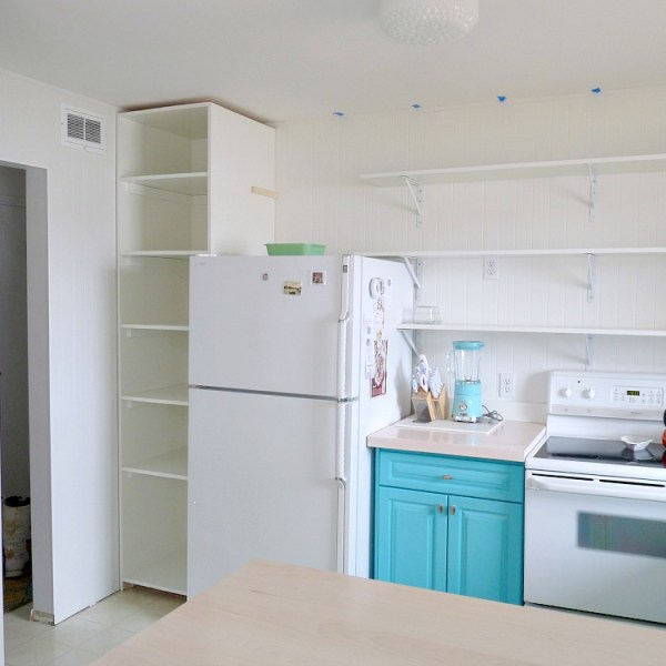 HOW TO BUILD AN EASY PANTRY