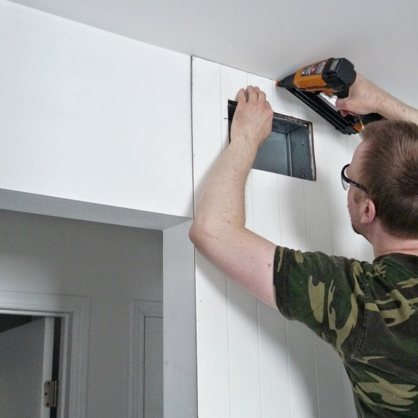 HOW TO INSTALL WALL PANELLING