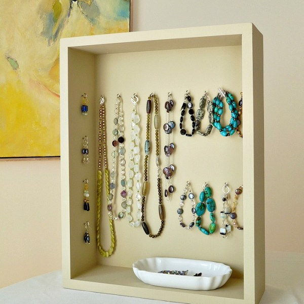 HANDMADE JEWELLERY DISPLAY CASE FROM SCRATCH