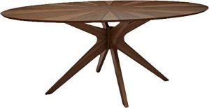 OVAL MCM STYLE TABLE