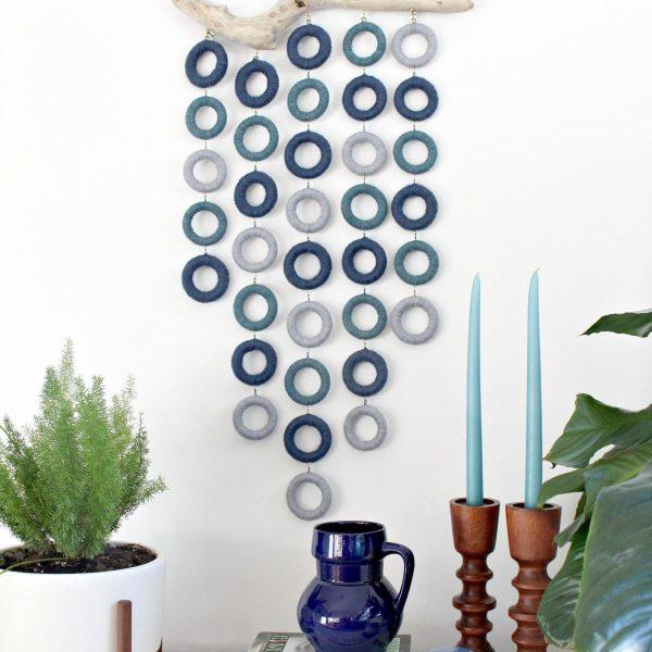 Easy DIY fiber art