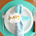 Diy Scrap Wood Napkin Rings With Daisies Mod Faux Flower Craft Dans Le Lakehouse