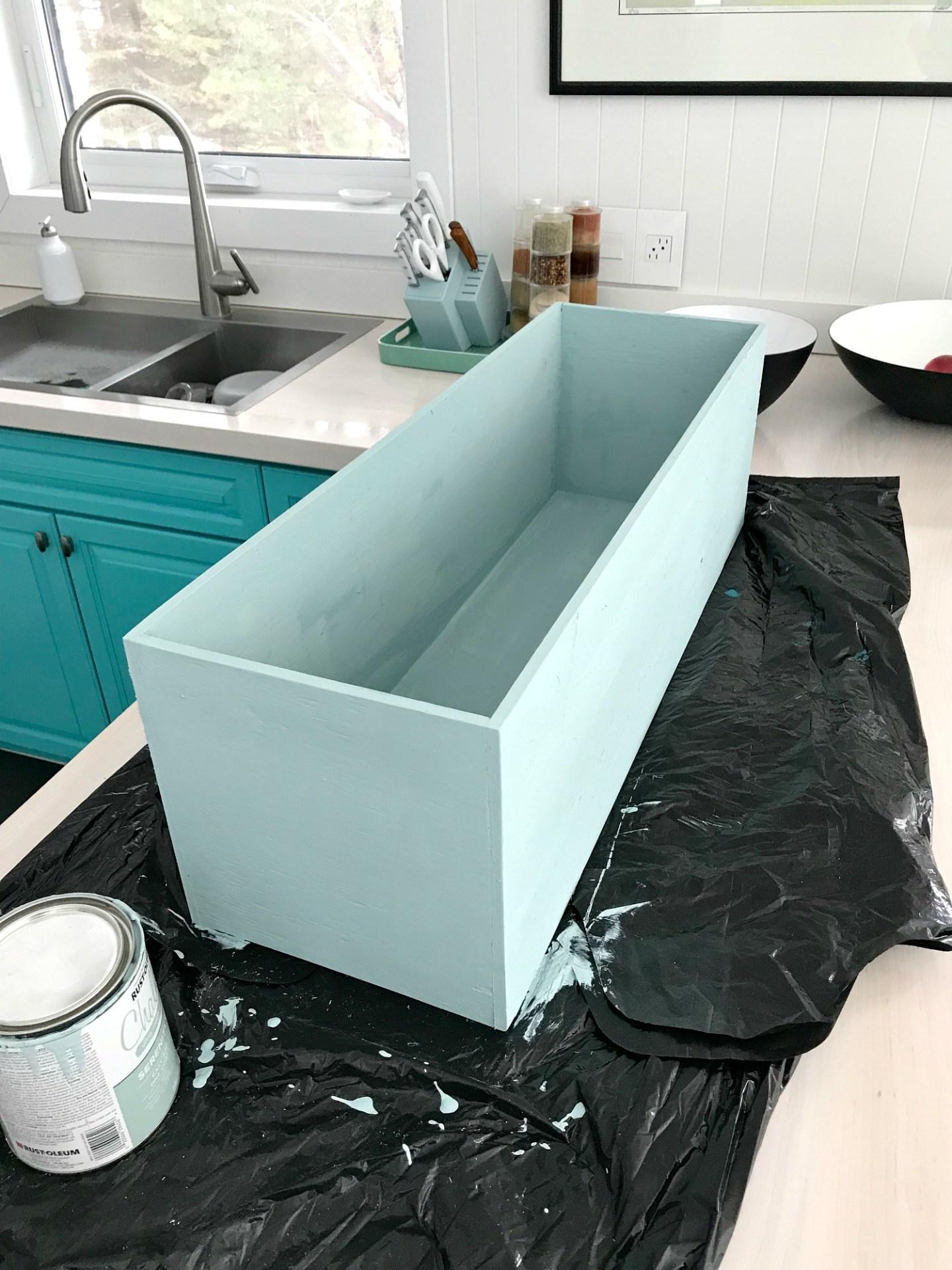 Rust-Oleum Serenity Blue Chalk Paint Color