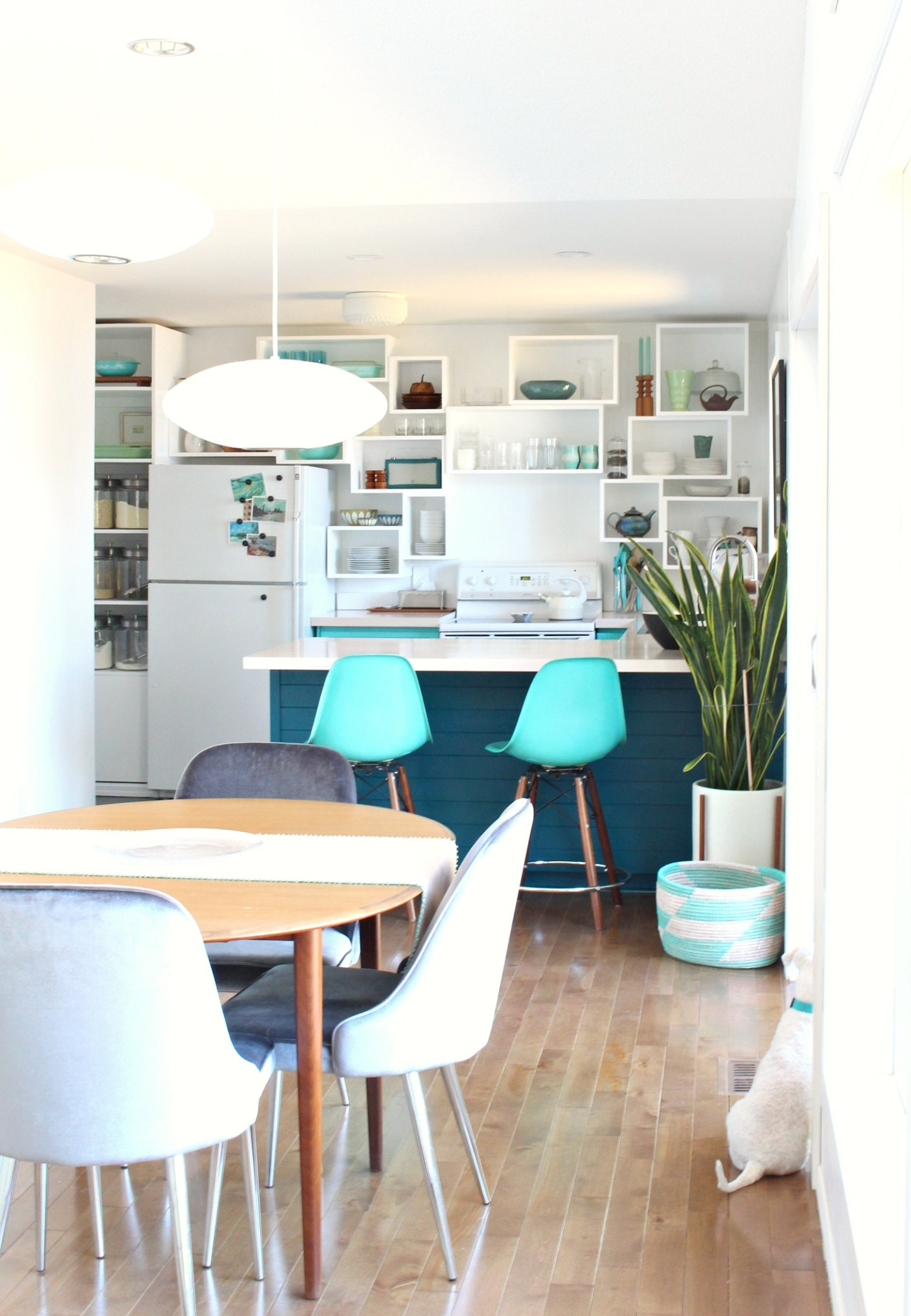How to Build Wall Cubbies   Fresh Take on Kitchen Open Shelving