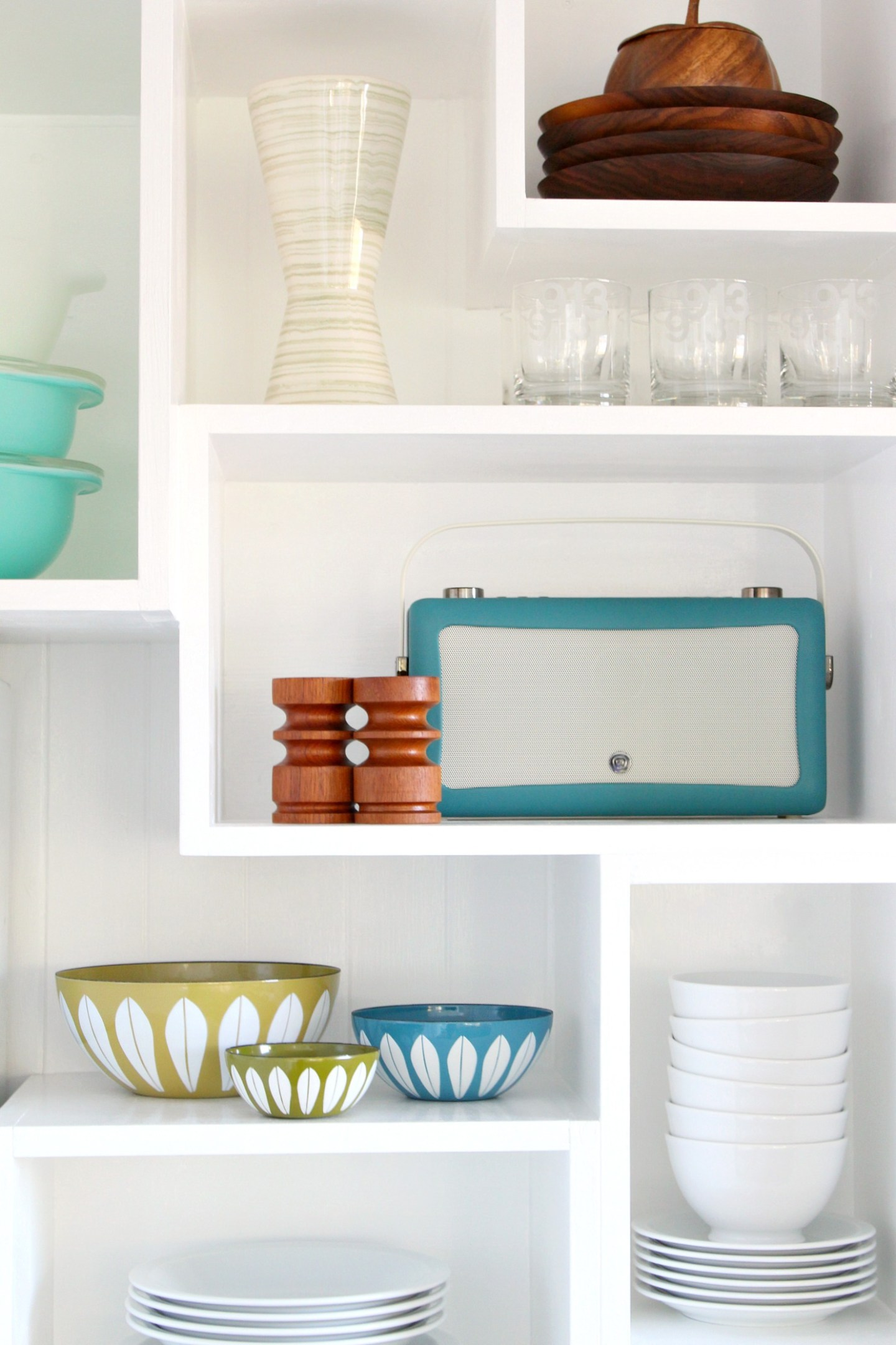 How to Build Wall Cubbies   Fresh Take on Kitchen Open Shelving. Open Shelving Ideas for the Kitchen for Added Kitchen Storage and Organization. Wall Cubbies DIY Tutorial Looks so Fun! #wallcubbies #kitchenstorage #openshelving
