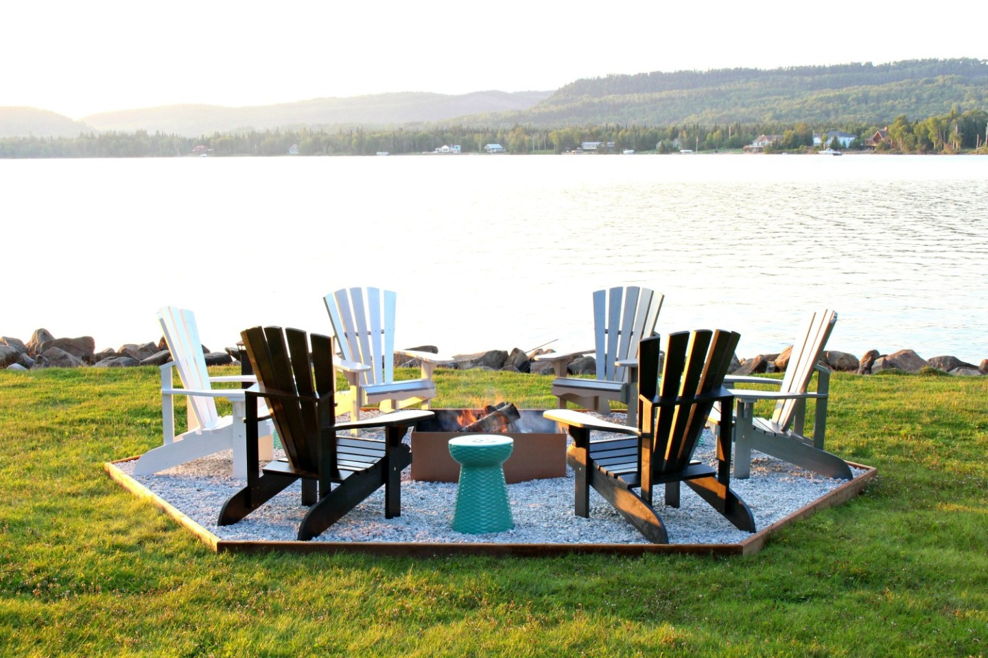 DIY Ombre Adirondack Chairs (Sponsored by The Home Depot Canada)