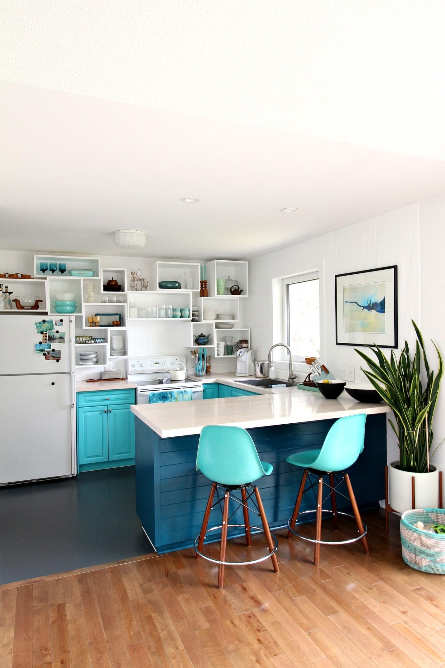 Kitchen Open Shelving Alternative