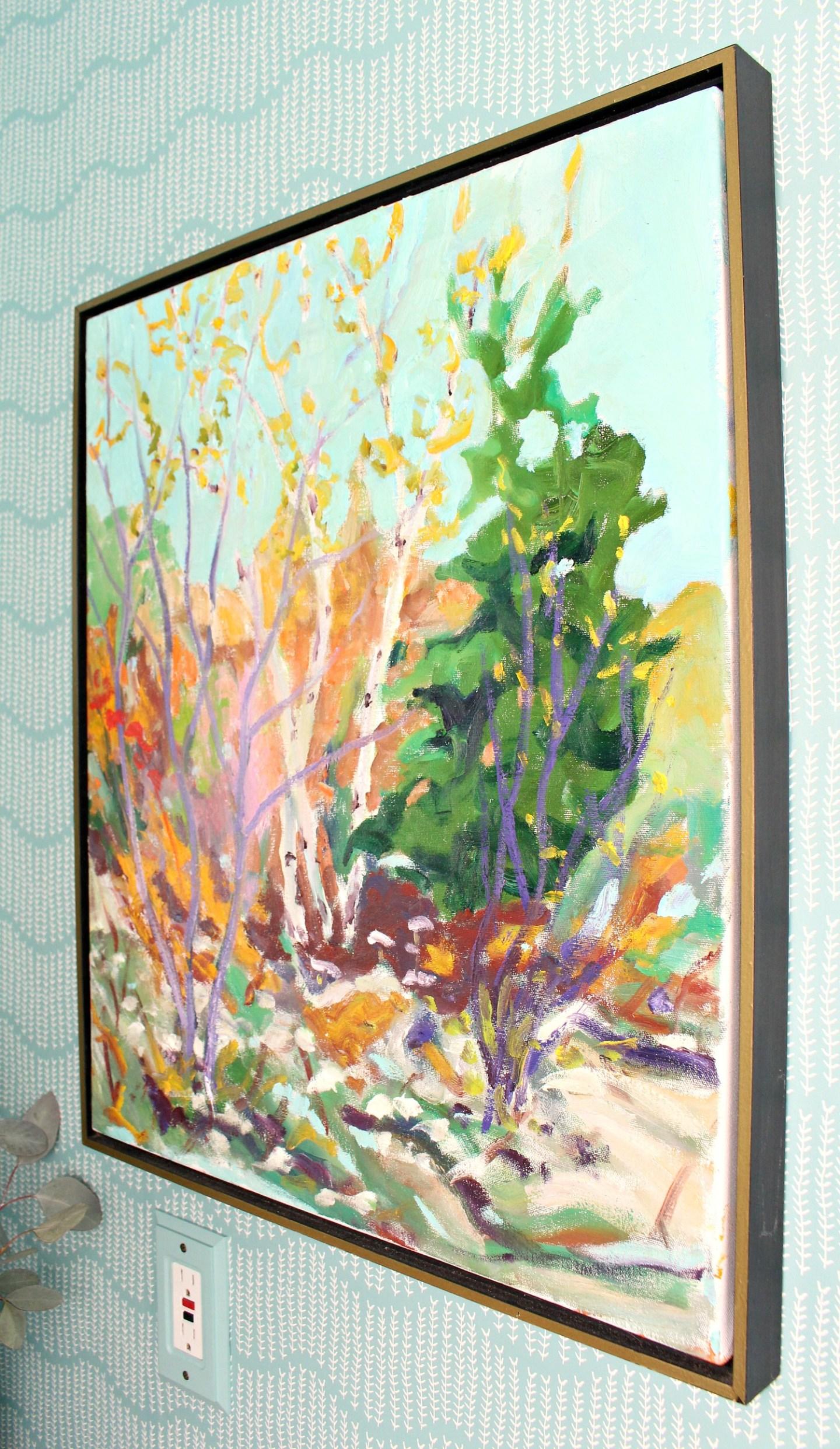 Bert Weir Fall Landscape Painting