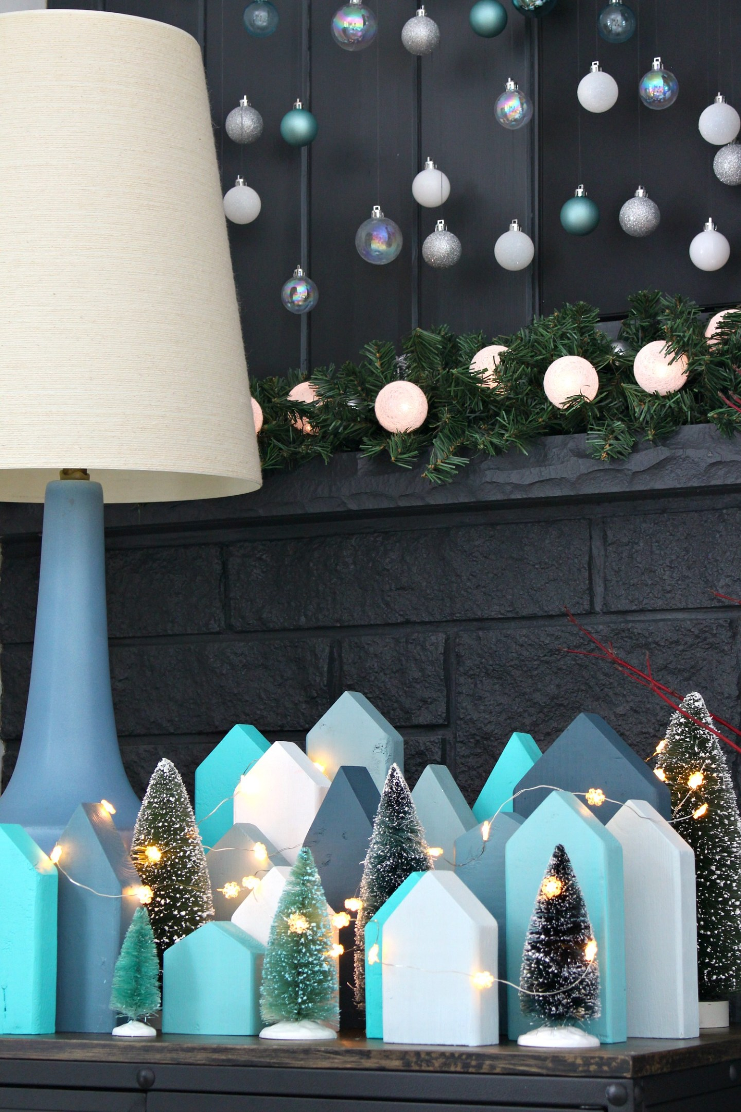 Learn How to Make This DIY Holiday Village