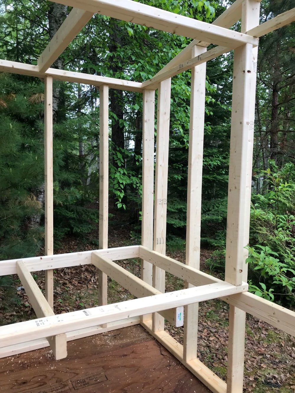 Framing Out a Chicken Coop