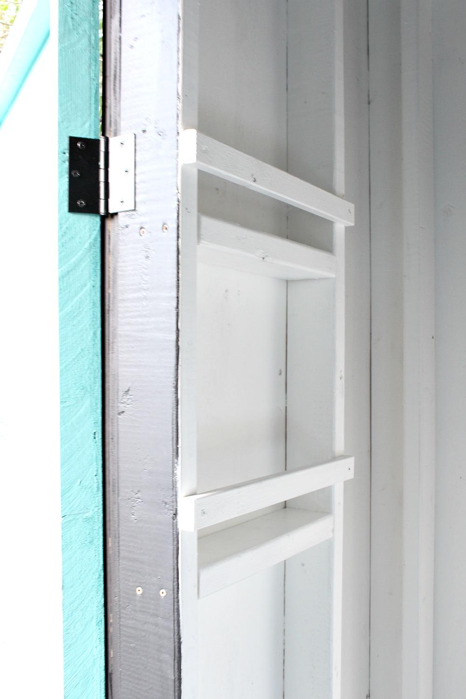 Storage Idea for Inside Chicken  Coop