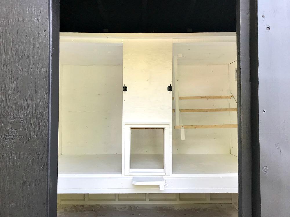 DIY Chicken Coop with Automatic Coop Door