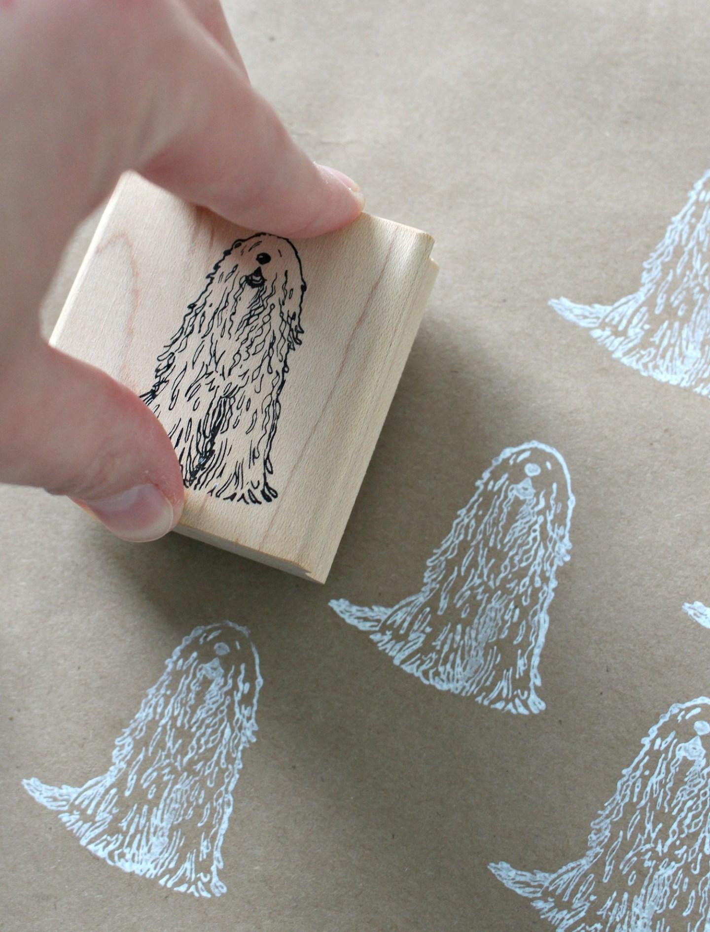 Komondor Printed Wrapping Paper