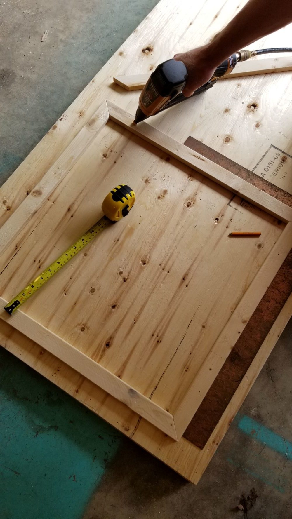 How to Make a Plywood Door