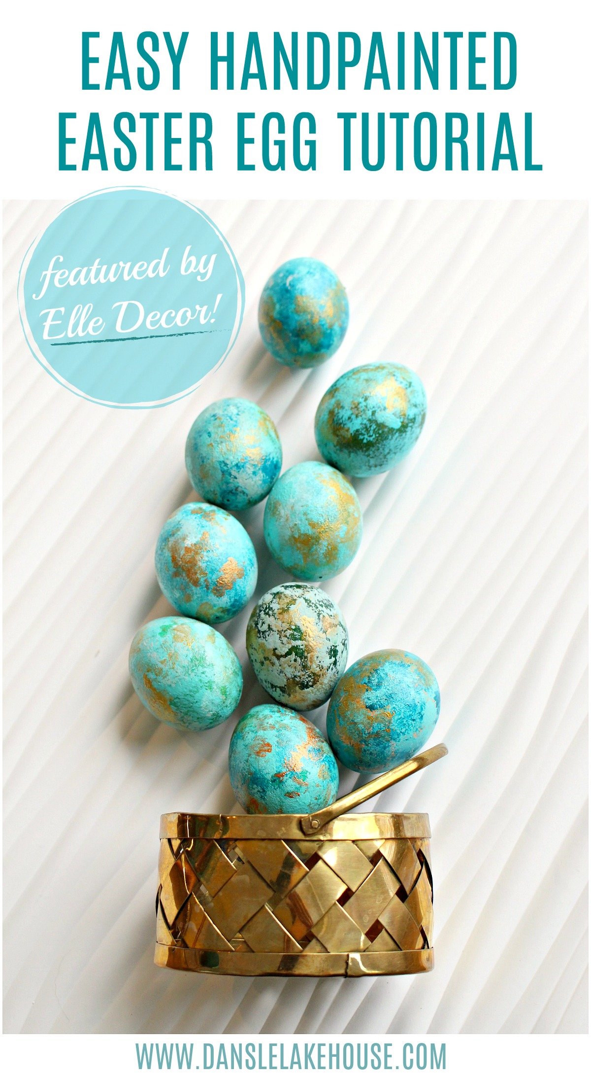 easy handpainted easter egg tutorial